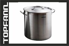 Stainless Steel Stock Pot 25 L ! 32 cm