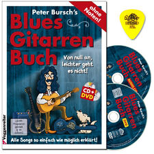 Peter Bursch 's Blues-chitarre LIBRO-CD, DVD, Dunlop manderebbe - 9783802407703