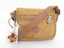 "BNEW Authentic KIPLING Sabian AC7245 Crossbody Sling Bag Golden Glimmer ""Shanee"""