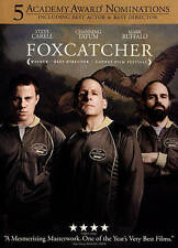 Foxcatcher (DVD, 2015, Includes Digital Copy UltraViolet) NEW