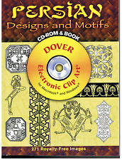 Dover Electronic Clip Art: Persian Designs and Motifs by Ali Dowlatshahi (2007,