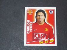 291 TEVEZ MANCHESTER UNITED TOPPS PREMIER LEAGUE FOOTBALL 2008-2009 PANINI
