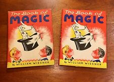 """Arresto The Great Presents The Book Of Magic"""" by William Wiesner 1944, DJ"""