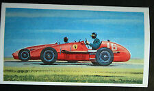 Ferrari   Mike Hawthorn  1953 French Grand Prix # Motor Racing Action Card