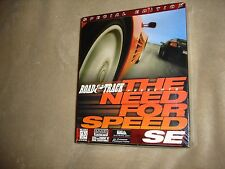 Road & Track Presents: The Need for Speed SE (PC, 1996)FACTORY SEALED NEW NOS