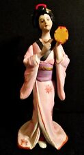 ITALY CAPODIMONTE BISQUE PORCELAIN CHINA GEISHA GIRLS STATUES FIGURINES MODERN
