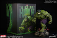 THE INCREDIBLE HULK GREEN PREMIUM FORMAT FIGURE SIDESHOW