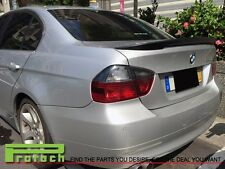 Jet Black Performance Trunk Lip Spoiler Fit BMW E90 323i 325i 330i 335i M3 Sedan