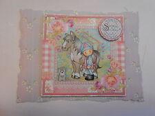 Pack 2 chloe équitation embellissement toppers pour cartes ou artisanat