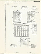 Patent copy-1930 cigarette package opening device.vintage US drawing=melaneybuy