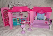 Barbie Doll Pinktastic 2012 Glam Pink Vacation House TV Accessories Stools