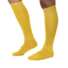 Unique Football Plain Long Socks Sports Knee High Large Hockey Rugby