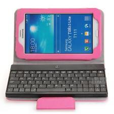 """Tastiera Bluetooth V3,0 + Custodia PU per Samsung Galaxy Tab 3 7"""" Lite T111/T110"""