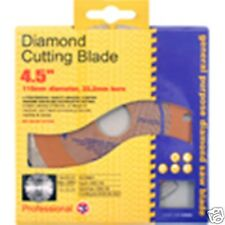 "Gold Diamond Cutting Blade General Purpose saw blade 4.5"" 115mm dia, 22.2mm bore"