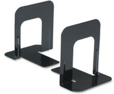 "Bookends Black Metal 5"" High 2 Pair (4 bookends)"
