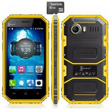 Unlocked 32GB Android 4G LTE KENXINDA W6 Rugged Cell Phone Waterproof Smartphone