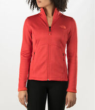 New Womens North Face Fleece Zip Jacket Agave Coat Large