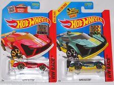 2015 HOT WHEELS RLC FACTORY SET RACE SUPER BLITZEN X2 BOTH COLORS