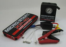 Emergency Roadside Auto Travel KIT Jump Starter Box TIRE INFLATOR Starts Deisel