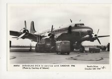 Douglas DC4 Sabena 1946 Repro Postcard 854a