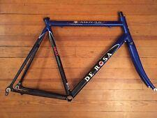 De Rosa Merak Dedacciai V107 Aluminum Road Frame 57cm Frameset Blue
