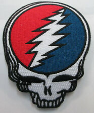 GRATEFUL DEAD COLLECTABLE RARE VINTAGE PATCH EMBROIDED steely JERRY GARCIA