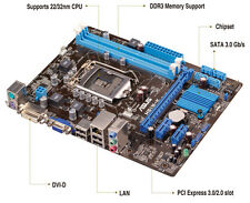 Asus H61M-K Motherboard,Socket 1155 for 3rd/2nd Gen Pentium Core i7/i5/i3/