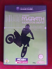 Nintendo GameCube jeu JEREMY MCGRATH supercross world