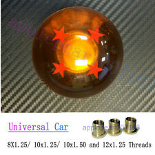 Dragon Ball Z Rare Custom 54mm Shift Knob 4 Star M8x1.25 with 3 Threaded Shifter