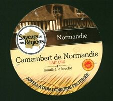 "Etiquette de Fromage "" Camembert de Normandie "" ( No 148 )"