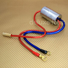 40 AMP CAR AUDIO ENGINE NOISE FILTER AMPLIFIER INSTALL