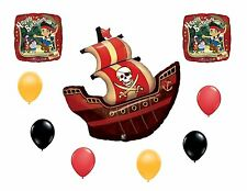 Pirate Ship and Disney Jake & the Neverland 'Happy Birthday' Balloons Party Set