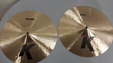 "Zildjian K Hi-Hats 14"" hihat top and bottom. K0823(PAIR)"