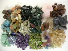 18 Mineral Variety Assortment!  Amethyst, Emerald, Ruby and More!  8+ Pounds!!!