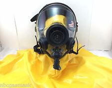 Mestel Safety SGE 400/3 40mm NATO Gas Mask w/NBC Hood & Drink Opt, Made in 2016!