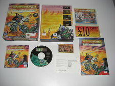 Warhammer SHADOW OF THE HORNED RAT Pc Cd Rom Original BIG BOX