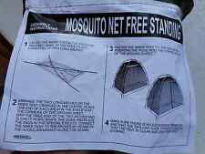 BRITISH ARMY ISSUE JUNGLE  MOSQUITO MOSI BUG FLY NET POD TENT ROOM new camping