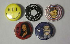 "Transmetropolitan Lot of 5 1 1/4"" Custom Buttons Badges Spider Jerusalem"