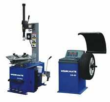 "Tyre (Tire) Changer (12""-28"") & Wheel Balancer Machine Combo-5"