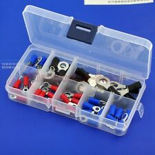 9 Types Ring Crimp Wire Terminal Assorted Kit, Connector, Packed in a box.