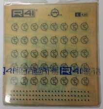R41 E430 FOGLIO 12 X 12,5 cm TRASFERIBILI SIMBOLI x ELETTRONICA - TRANSISTOR