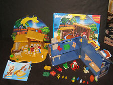 Playmobil Xmas Santas House & Nativity XMAS Toy Lot