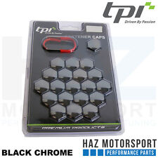 TPi Original 20 x Hex Alloy Wheel Bolt/Nut Covers And Removal Tool (All Colours)
