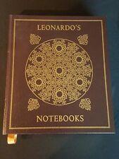 Leonardo Da Vinci, Leonardo's Notebooks Easton Press