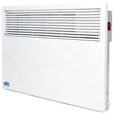 ATC Sun Ray Wall Mounted Panel Convector Heater with Timer 2kW 2000w PH2000T