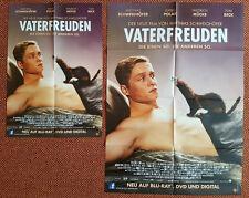 NEU! Vaterfreuden Poster!84x 60cm/Film/DVD/Matthias Schweighöfer+1 Poster Gratis