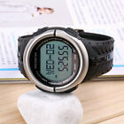 3D Pedometer Watch Heart Rate Monitor Calories Counter Fitness Sport Watch FL