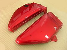 """YAMAHA RX100 SIDE COVER L/R  """"RED PAINTED""""    es"""