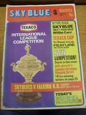 28/09/1971 Coventry City v Falkirk [Texaco Cup] (creased, marked, torn, tatty).