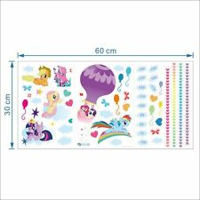 My Little Pony Height Chart Wall stickers Removable Decals Kids Nursery Decor